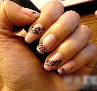2010最流行的指甲图案